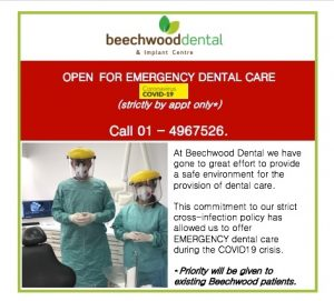 emergency dental care covid 19